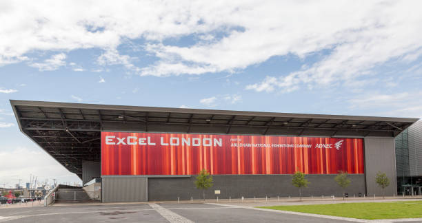 ExCel Exhibition Center in London in Dockland